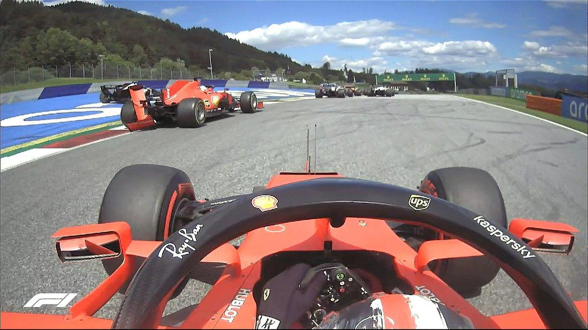 """I F**ked Up""- Charles Leclerc Takes Full Responsibility for Sebastian Vettel Crash - Essentially Sports"