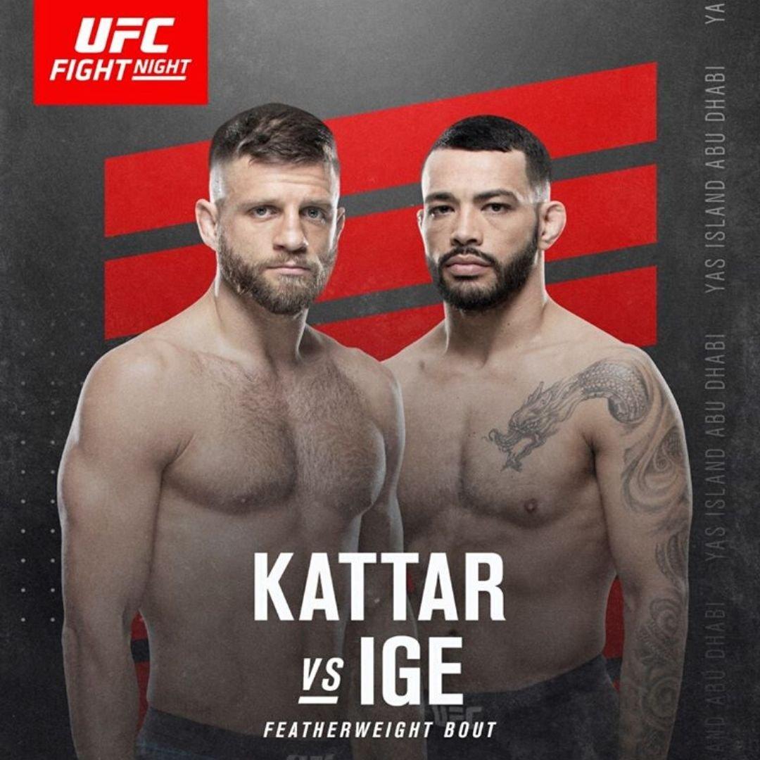 UFC Fight Night: Kattar vs Ige
