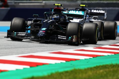 Why Valtteri Bottas Gave Antonio Giovinazzi the Finger During the Styrian Grand Prix - Essentially Sports