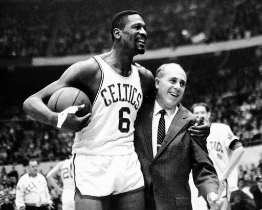 Boston Celtics star Bill Russell