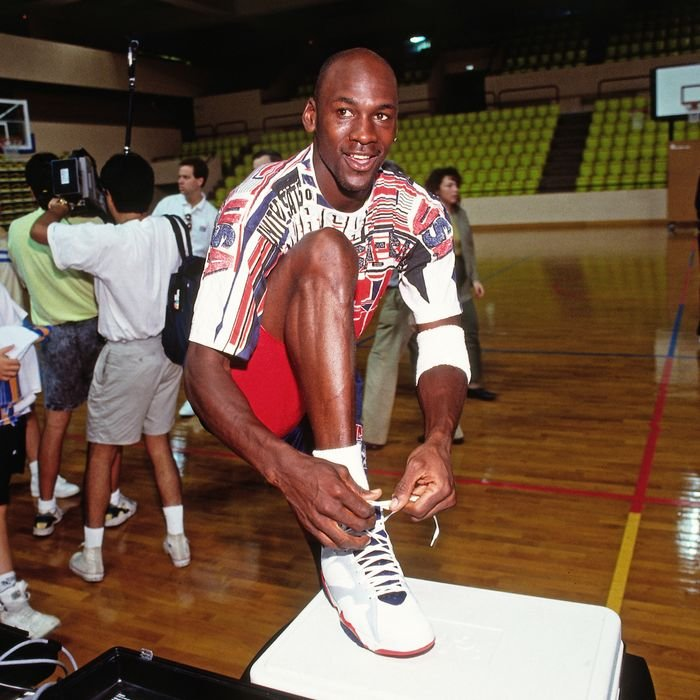 Rare Game-Worn Sneakers by Michael