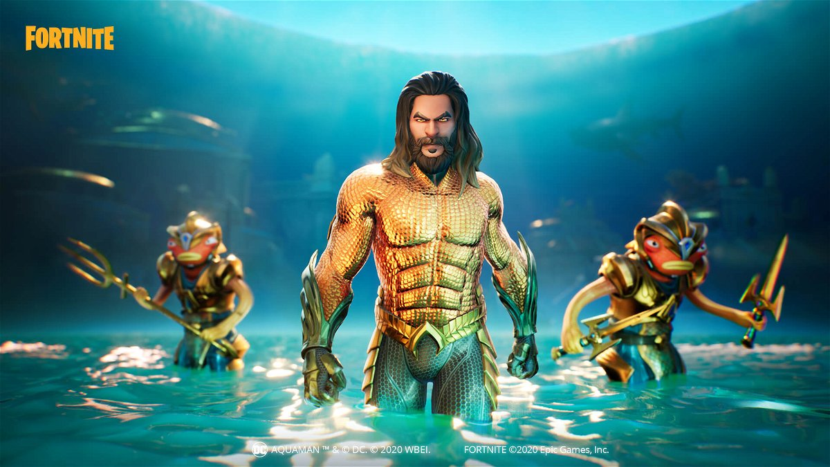 Fortnite: How to Complete Aquaman Challenges to Get the ...