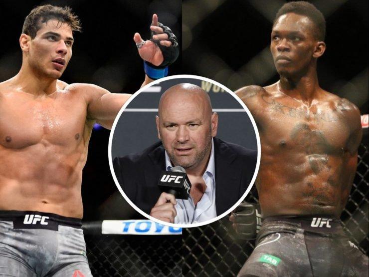 Dana White on Israel Adesanya vs Paulo Costa