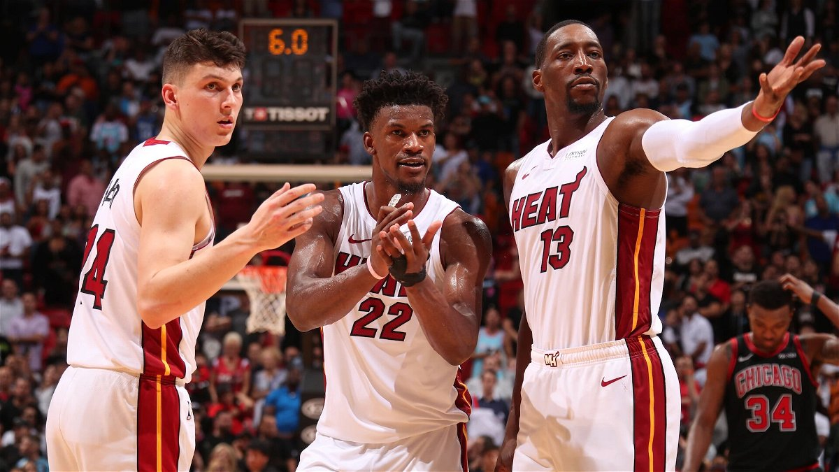 Love That Kid To Death Jimmy Butler Lauds Miami Heat Rookie Following His Career Best Game Essentiallysports