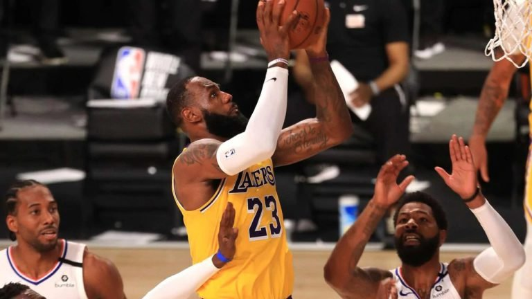 LeBron James Changes Shoes And Fortunes
