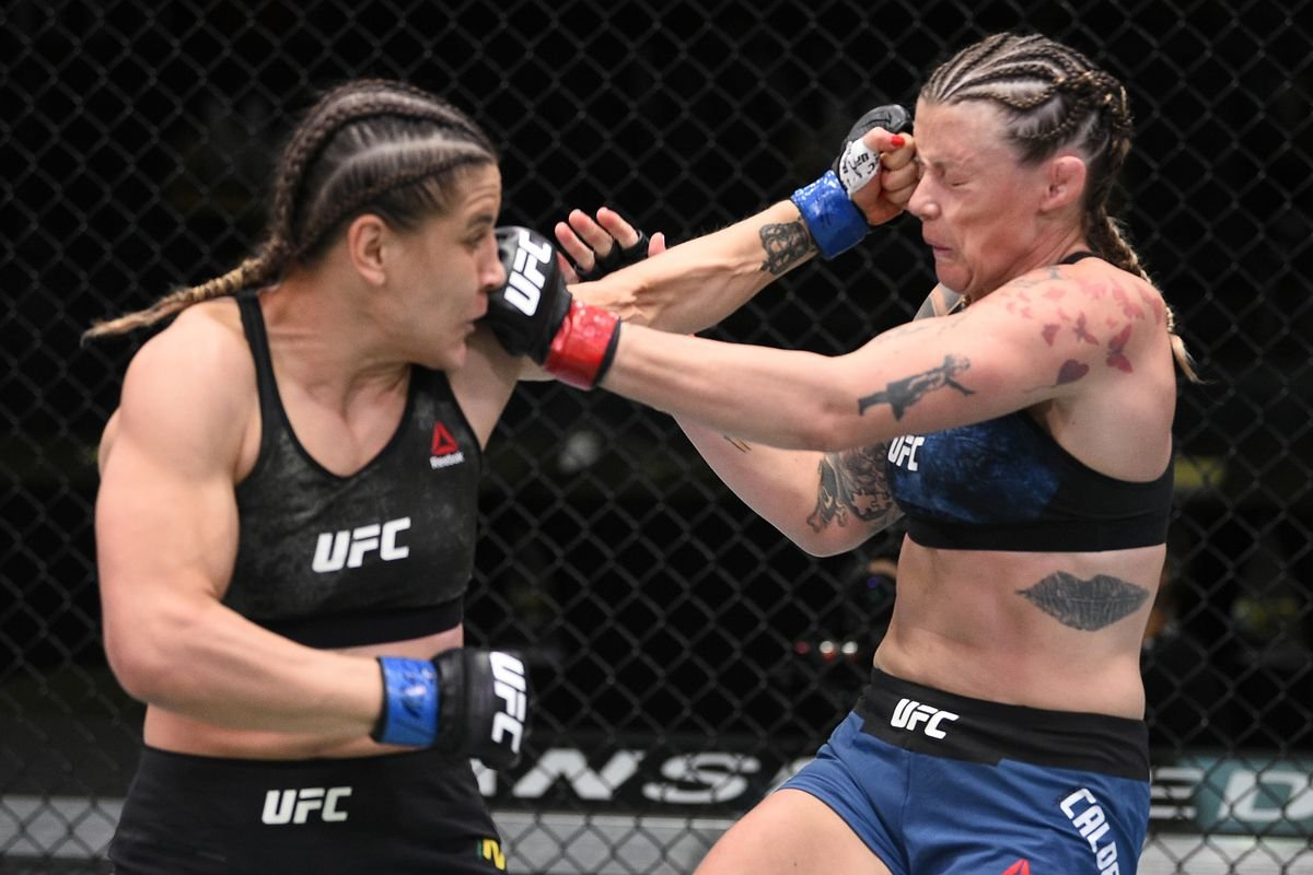 WATCH: Jennifer Maia Stuns Joanne Calderwood With a Crazy Armbar to Set up  Title Fight With Valentina Shevchenko - EssentiallySports