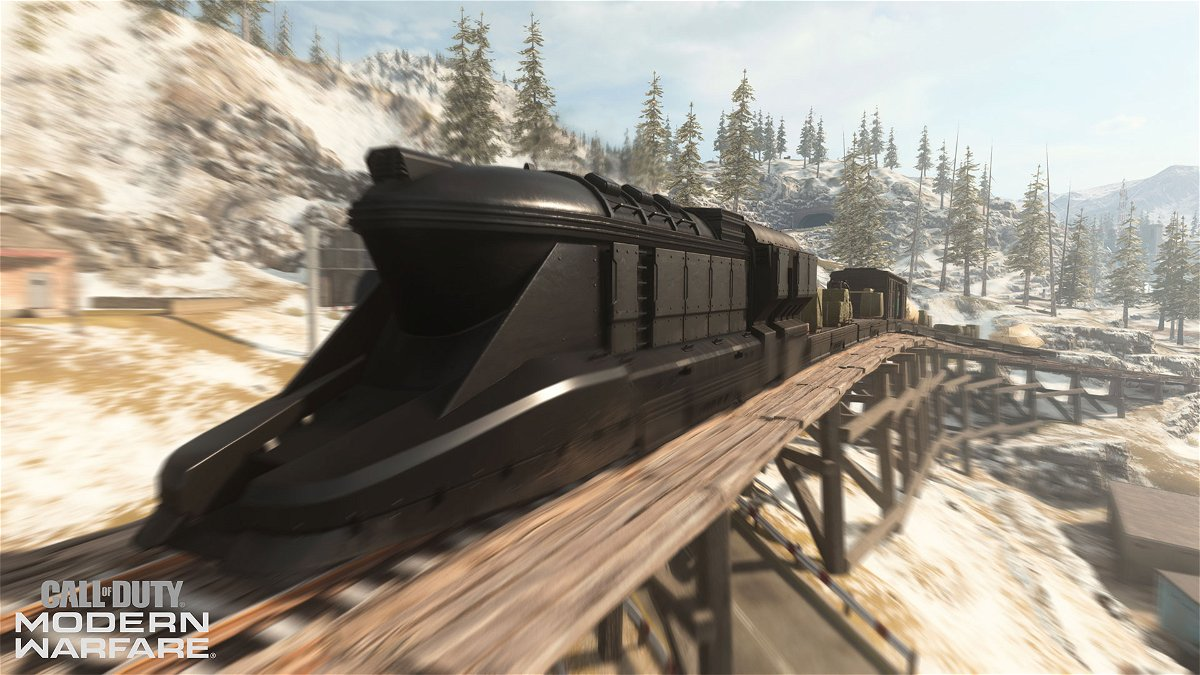 Call Of Duty Warzone Season 5 There S A Train Running Through Verdansk Essentiallysports