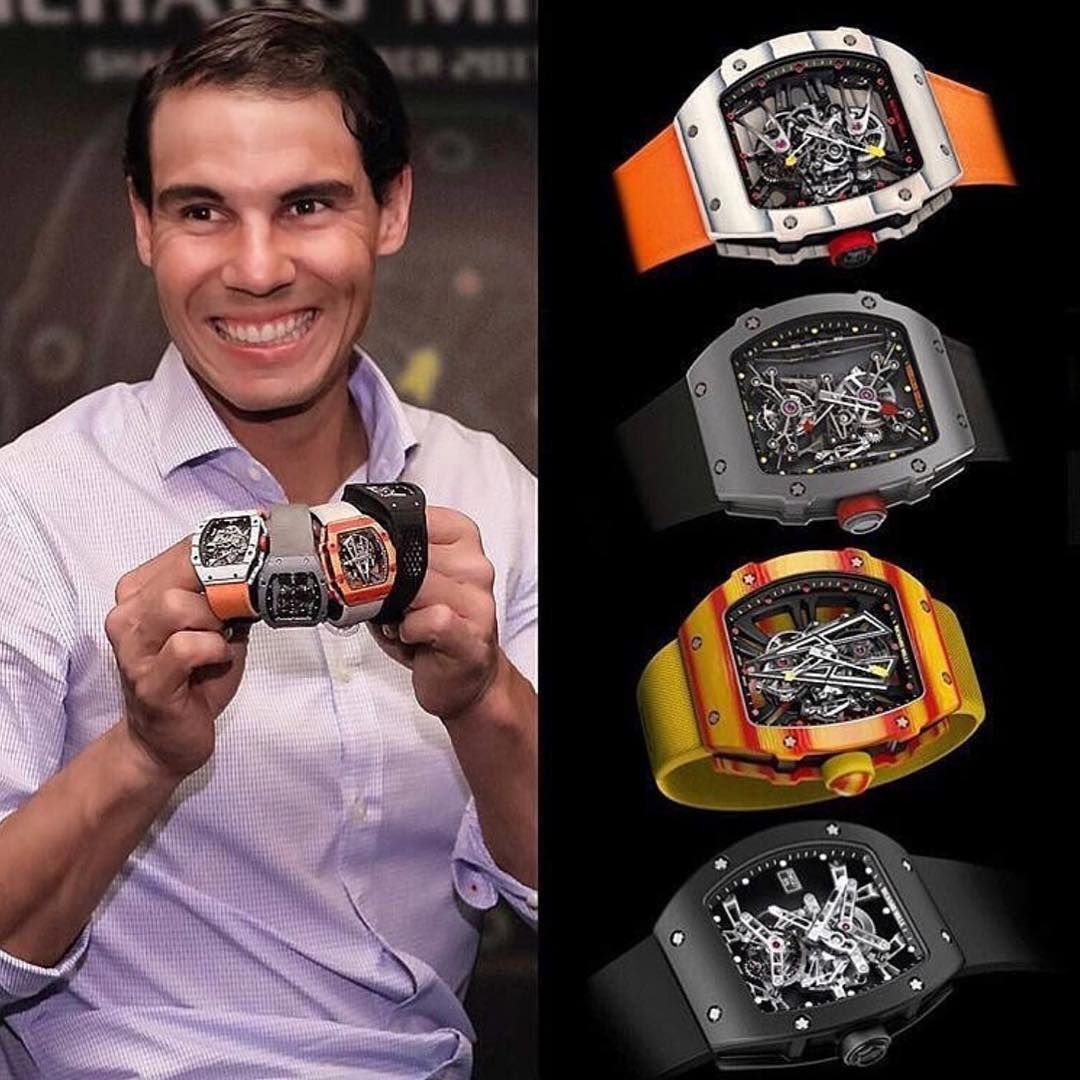 Luxury Watchmaker Richard Mille Engages In A Brand New Venture With Rafael Nadal Essentiallysports