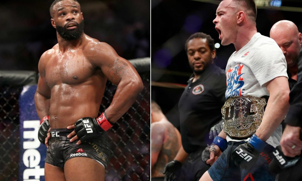 Reports Colby Covington And Tyron Woodley Verbally Agree On Date Essentiallysports