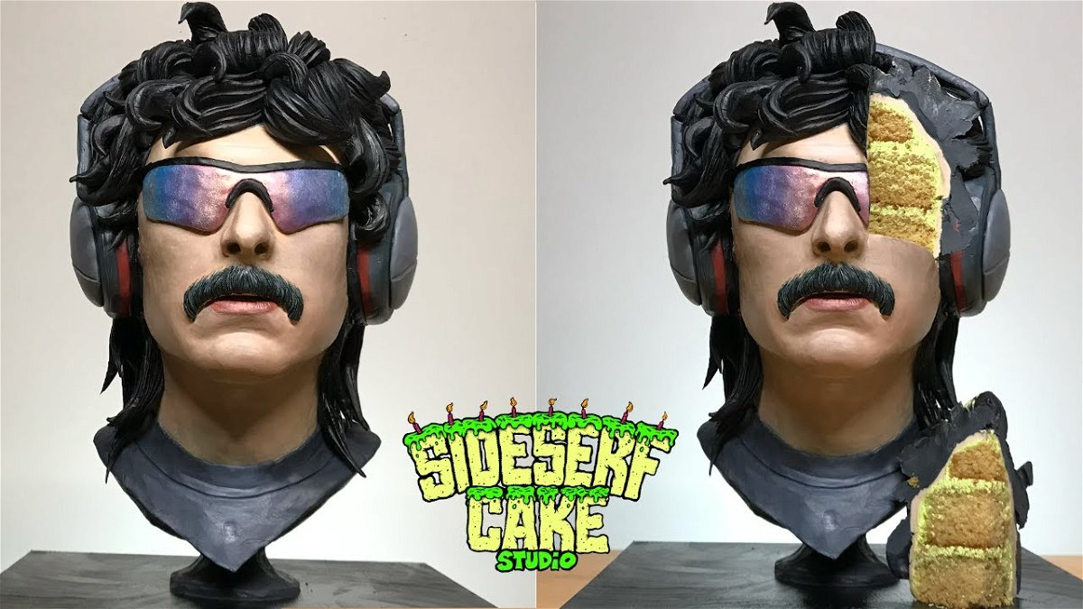 This Dr Disrespect Cake Is An Absolute 'Treat' - Essentially Sports
