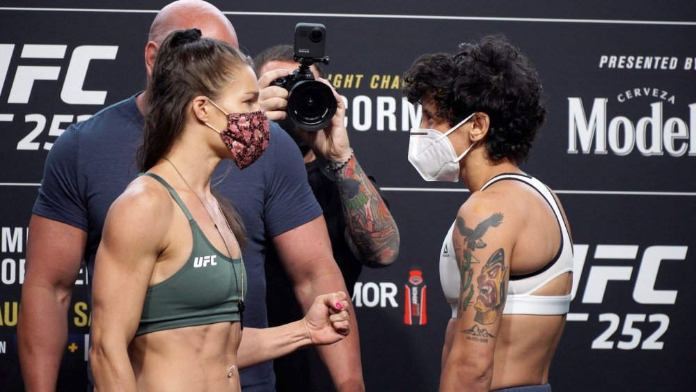 Felice Herrig vs Virna Jandiroba, August 15 2020, UFC 252