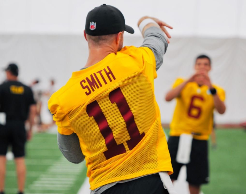 WATCH: Alex Smith Resumes Training Two Years After ...
