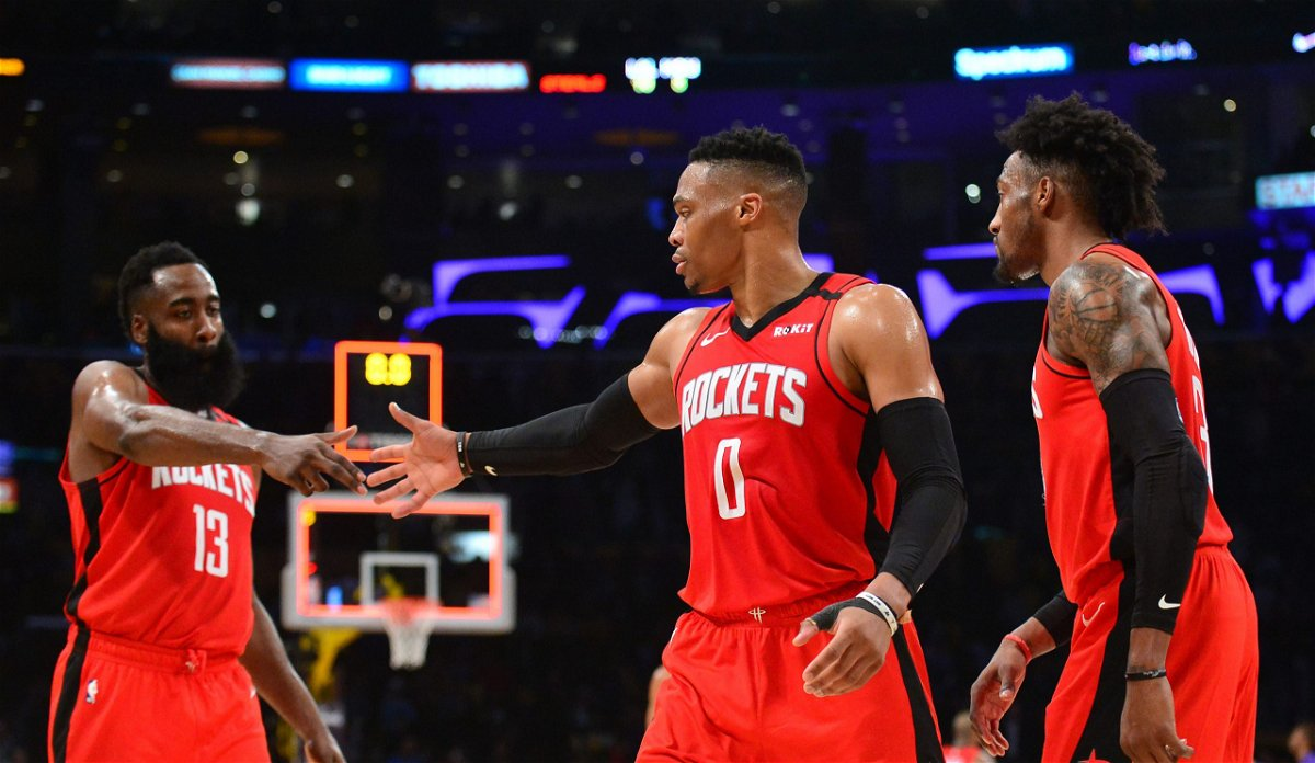 WATCH: Houston Rockets Not Worried About Russell Westbrook ...