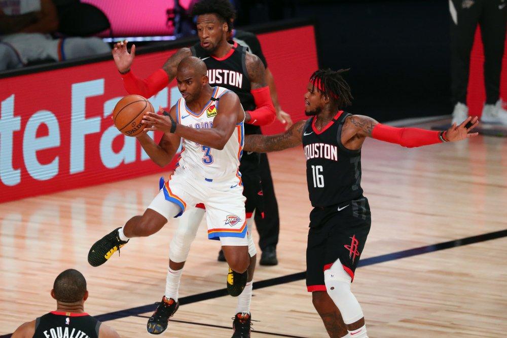 NBA Playoffs: Houston Rockets Vs Oklahoma City Thunder ... Rockets Vs Thunder