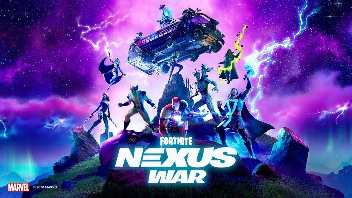 Fortnite Chapter 2 Season 4 Avengers Assemble In Nexus War Against Galactus Essentiallysports