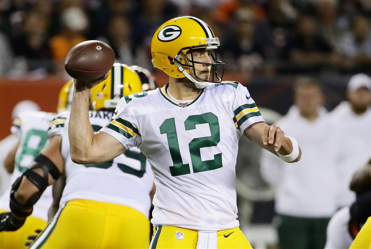 Aaron Rodgers A Glimpse At His Many Mustaches In The Nfl Essentiallysports