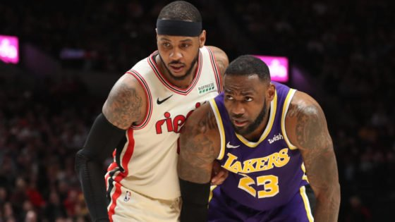 NBA Trade Rumors: Is Carmelo Anthony Headed to Partner With LeBron James at Los Angeles Lakers?