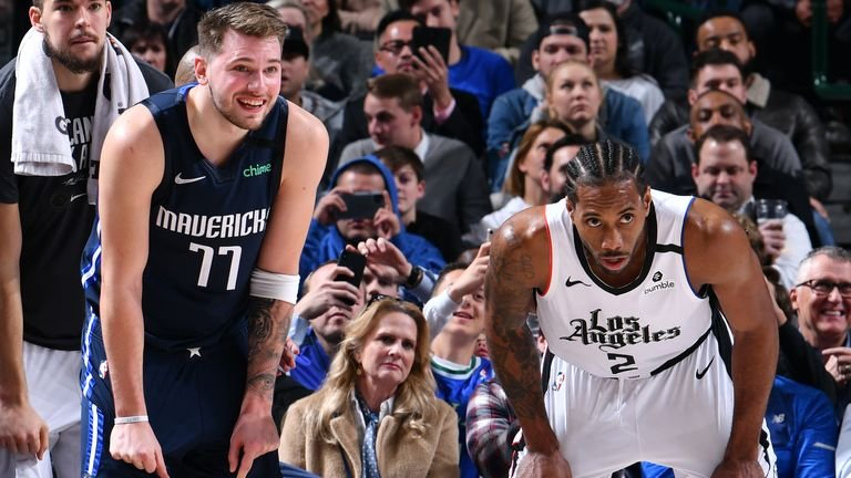 """Did a Hell of a Job"""": Clippers' Star Kawhi Leonard Lauds Luka Doncic for a  Record Breaking Playoff Run - EssentiallySports"""