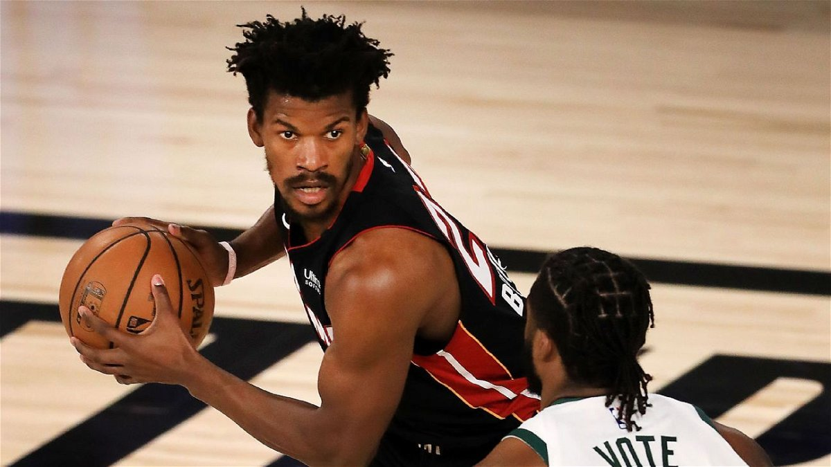 Jimmy Butler Joins Lebron James In Miami Heat History Books With Career High Playoff Performance Essentiallysports
