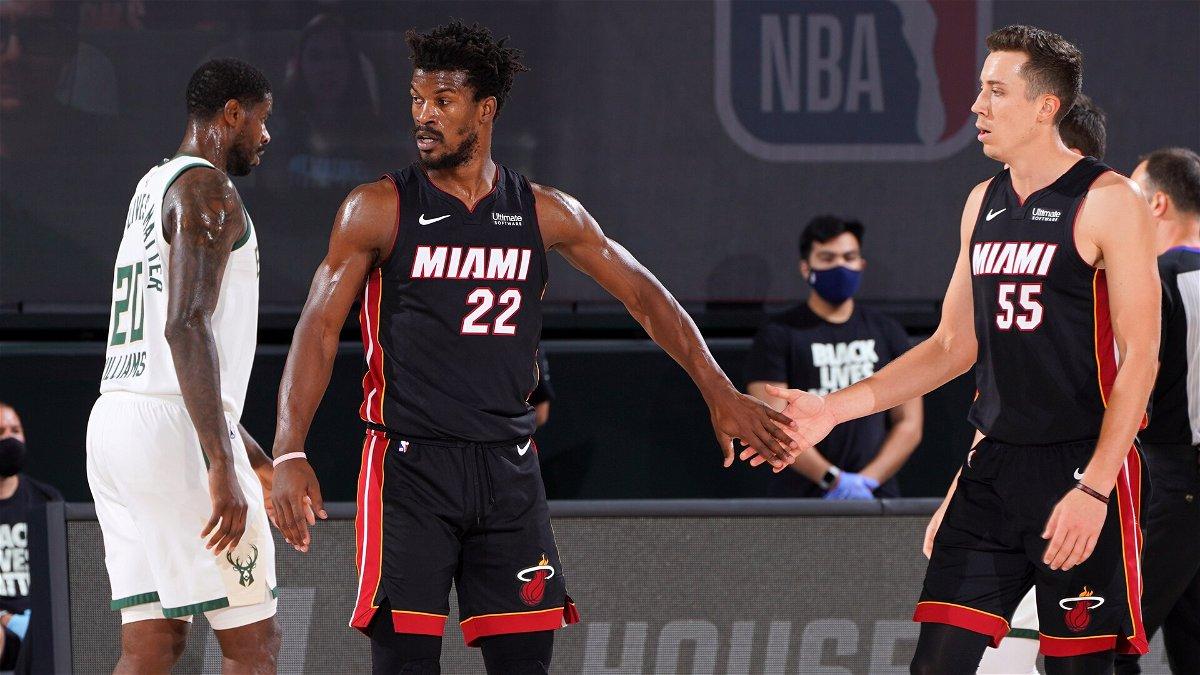 Former Heat Legend Praises Jimmy Butler Following Stellar Performance Against Bucks Essentiallysports