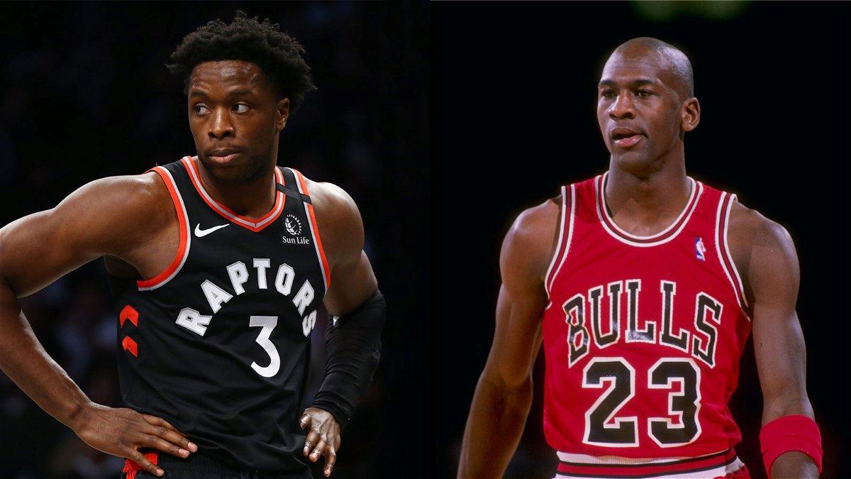 Raptors' OG Anunoby Joins NBA Legend