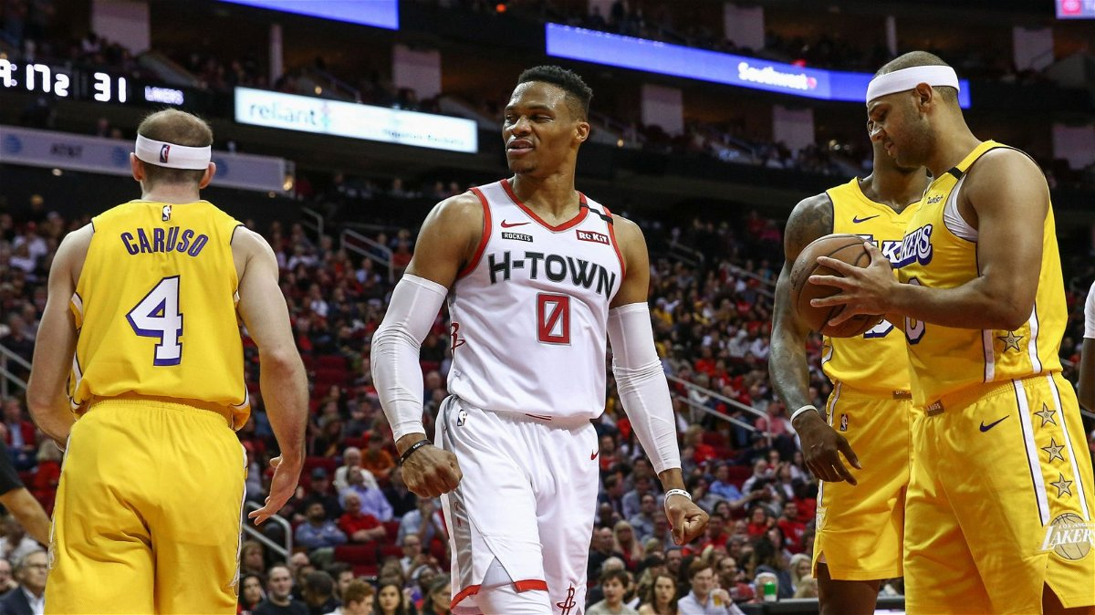 NBA Playoffs: Los Angeles Lakers vs Houston Rockets Game 2 ...