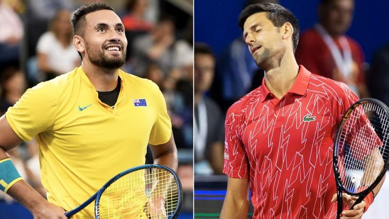 Nick Kyrgios Trolls Novak Djokovic After His Disqualification From Us Open 2020 Essentiallysports