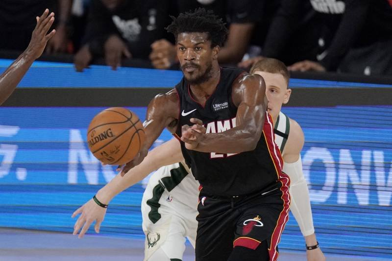 All Bad Heat S Forward Jimmy Butler Hugely Disappointed After Game 4 Loss Against Bucks Essentiallysports