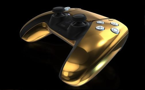 24 K Gold PlayStation 5 .. Start From £7999