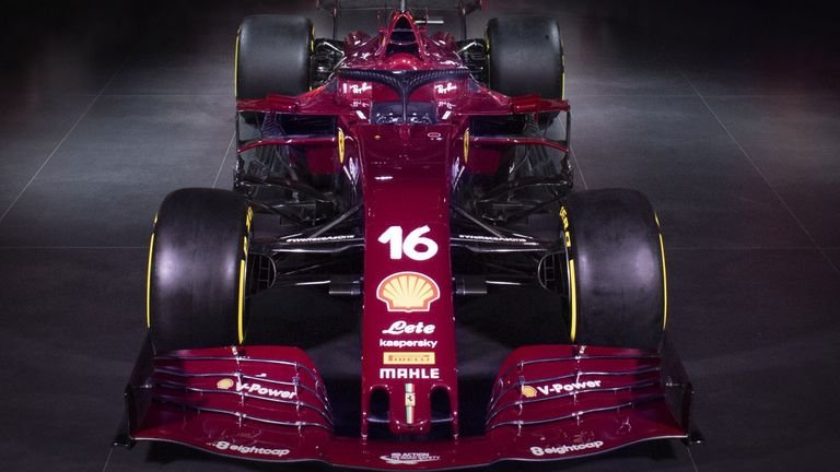 Ferrari Sf1000s To Sport Burgundy For The Team S 1000th Grand Prix