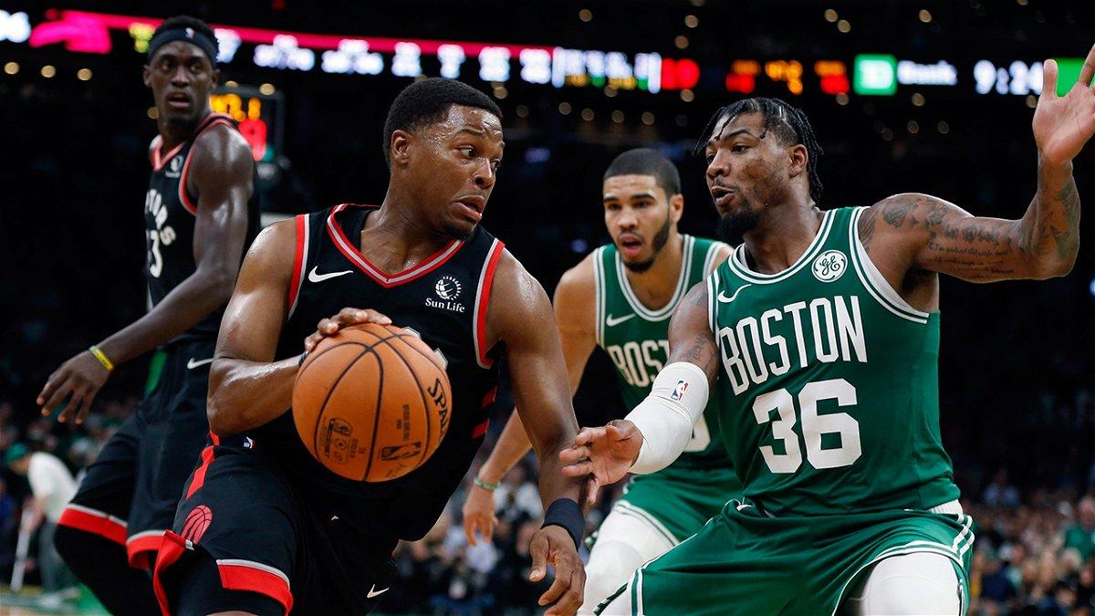 F King Unbelievable Raptors Star Kyle Lowry Left Awestruck After Teammate S Final Play Against Celtics Essentiallysports