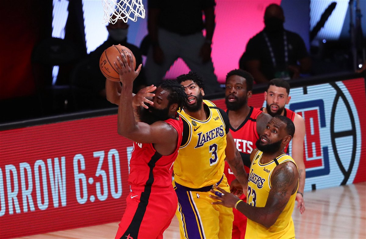 NBA Playoffs: Los Angeles Lakers vs. Houston Rockets Game ...