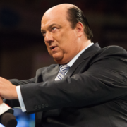 Paul Heyman, manager of Brock Lesnar on WWE Raw