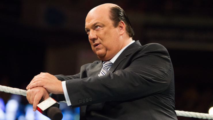 Paul Heyman, manager of Brock Lesnar on WWE Raw