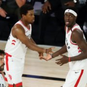 Boston Celtics Vs Toronto Raptors: Kyle Lowry and Pascal Siakam