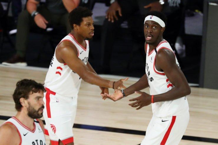 Boston Celtics Vs Toronto Raptors: Kyle Lowry and Pascal Siakam