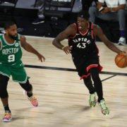 Boston Celtics Vs Toronto Raptors: Pascal Siakam and Kemba Walker