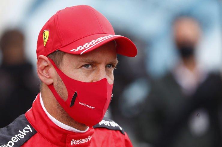 Sebastian Vettel In The Paddock
