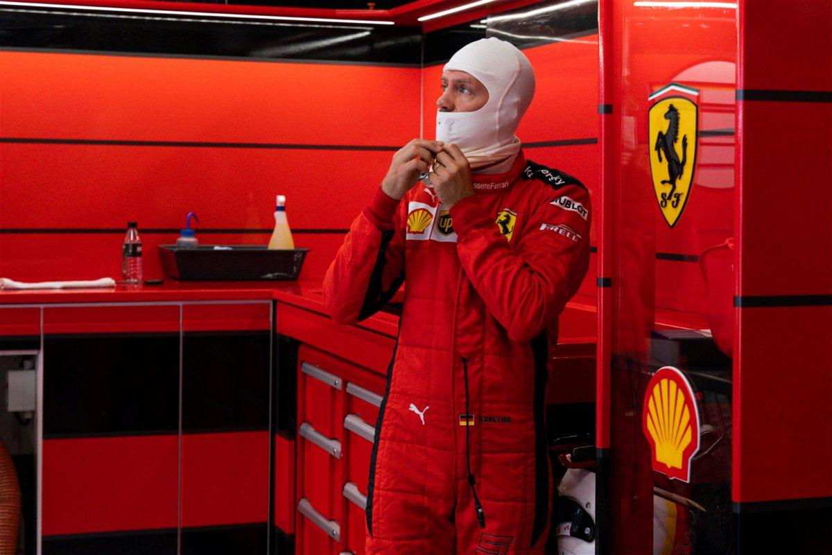 Sebastian Vettel Ahead Of the Spanish GP