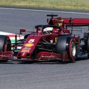 Sebastian Vettel at the Tuscan Grand Prix
