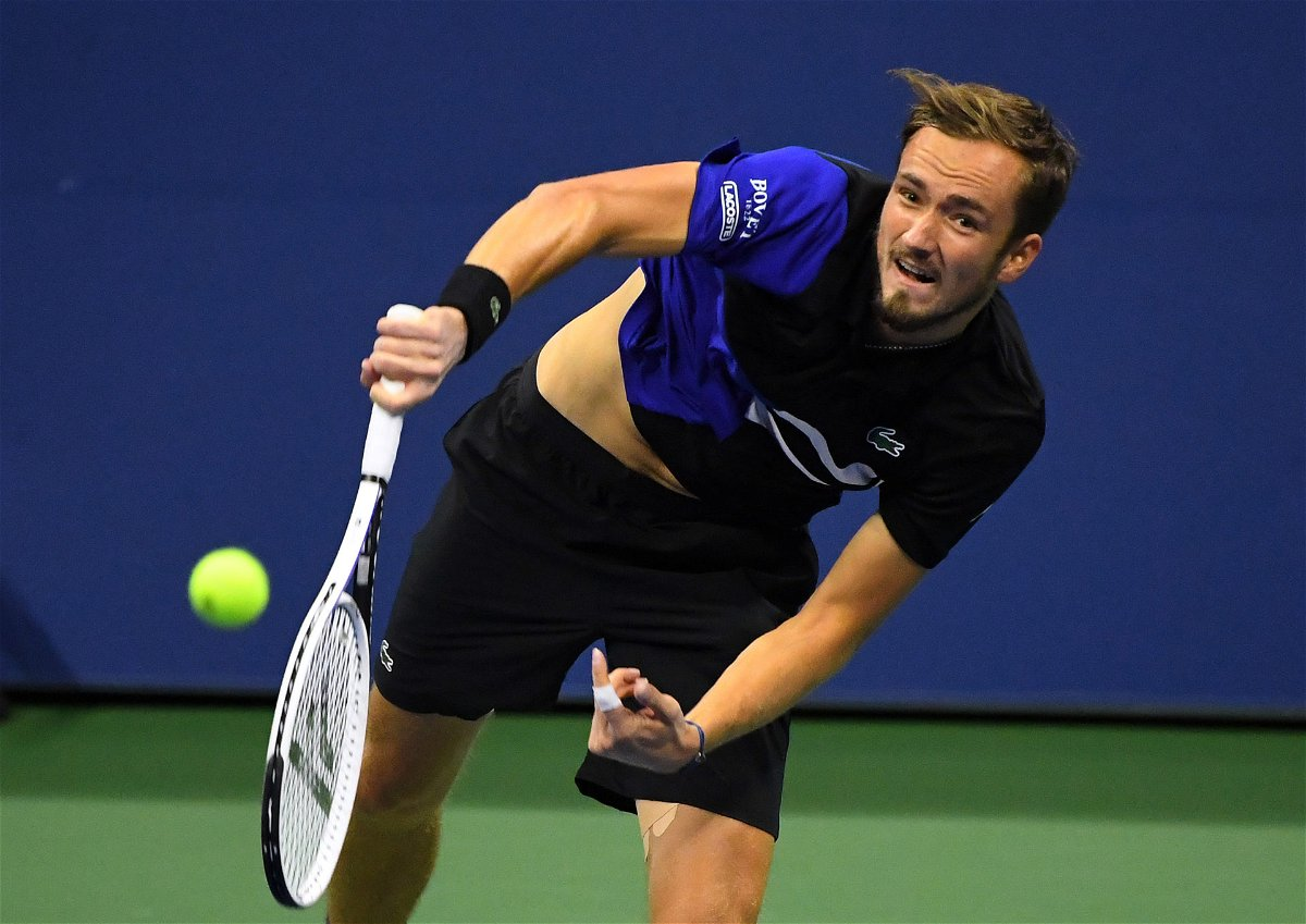 "Did I Hurt Someone"": Daniil Medvedev Questions Code of Violation For  Crossing the Net at US Open 2020 - EssentiallySports"