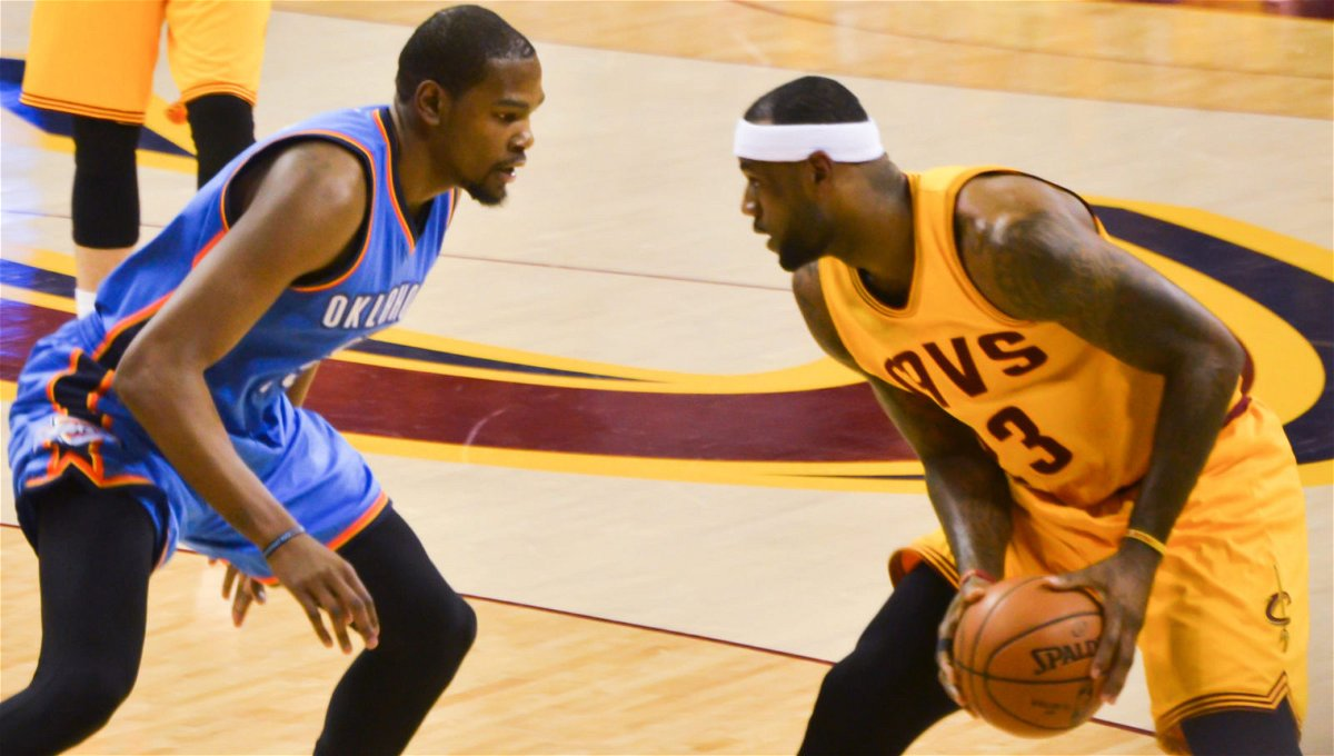 I Have To Look Him In The Eyes Kevin Durant Opens Up About Rivalry With Lebron James Essentiallysports