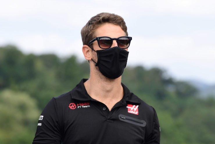 Romain Grosjean angry