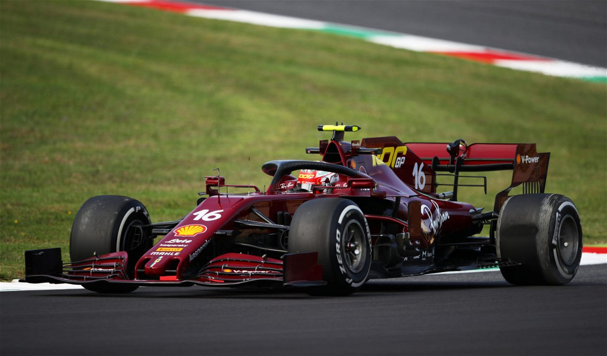 Listen Charles Leclerc Overjoyed On The Team Radio After Qualifying 5th For Ferrari S 1000th Race Essentiallysports