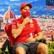 Sebastian Vettel at Tuscan Grand Prix Press Conference