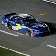 Justin Allgaier in action in NASCAR Xfinity Series