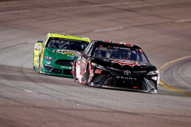 Justin Marks recruited Daniel Suarez for Team Trackhouse in action in NASCAR Cup Series