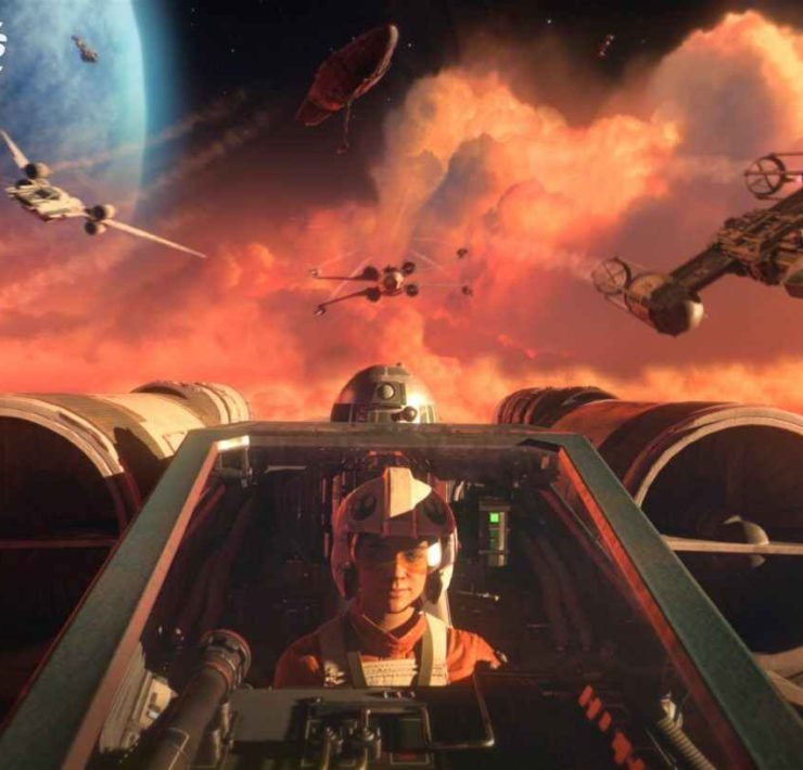 Tar Wars Squadrons screenshot featuring gameplay