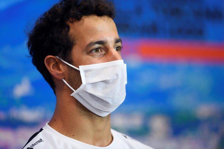 Daniel Ricciardo press conference