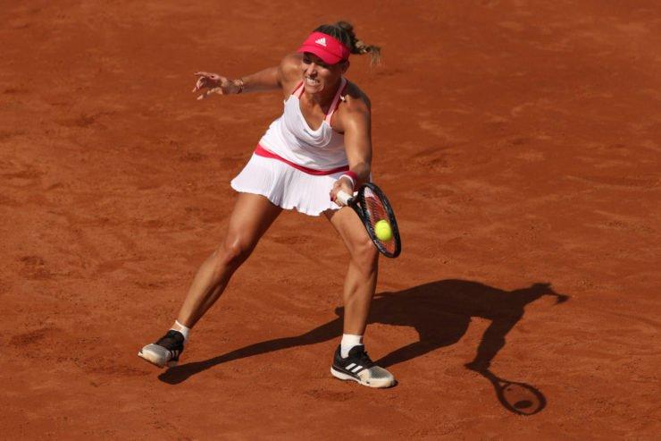 Angelique Kerber at Italian Open 2020